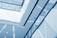 Modern Architecture Interior Royalty Free Stock Photos