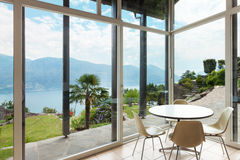 Modern architecture; interior; veranda Stock Photo