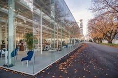 Modern Architecture in Kanagawa Institute of Technology Stock Photo