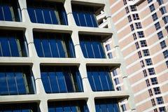 Modern Architecture in Kansas City - Condo Apartments Stock Photo