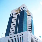 Modern architecture of Kazakhstan Royalty Free Stock Images