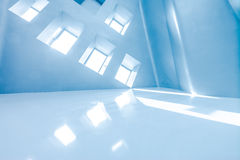 Modern architecture of large business conference center with blue tone. Stock Photography