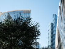 Modern architecture, Las Vegas, Nevada Royalty Free Stock Photo