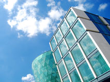 Modern architecture in Leeds, UK Royalty Free Stock Images
