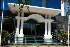 Modern architecture - Limassol, Cyprus Royalty Free Stock Images