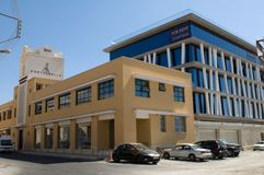 Modern architecture - Limassol, Cyprus Royalty Free Stock Photo