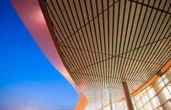 Modern architecture local (night) Royalty Free Stock Photography