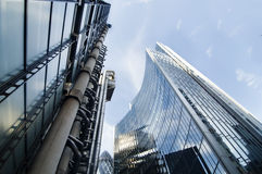 Modern architecture in London Royalty Free Stock Photography