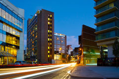 Modern architecture in London. Royalty Free Stock Photo