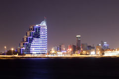 Modern architecture in Manama, Bahrain Stock Photos