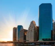 Modern architecture of Manhattan Stock Photo