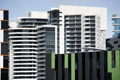 Modern Architecture Melbourne Stock Photo