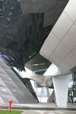 Modern architecture in Munich. Bmw museum in Munich, Germany royalty free stock photo