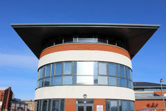 Modern architecture - new health centre Fleetwood Royalty Free Stock Photo