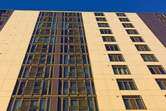 Modern architecture of newly built residential properties in Washington DC, USA. Stock Images
