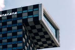 Modern architecture office building in Rotterdam Stock Photography