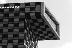 Modern architecture office building in Rotterdam Stock Image
