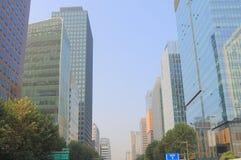 Modern architecture office building Seoul South Korea Stock Image
