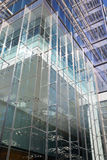 Modern architecture, office building with steel & glass Stock Images