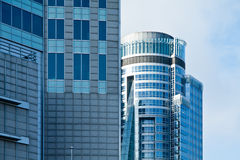 Modern architecture office buildings Royalty Free Stock Photography