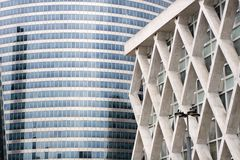 Modern architecture from Paris Royalty Free Stock Photo