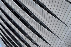 Modern architecture pattern of a stadium Royalty Free Stock Photo