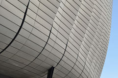 Modern architecture pattern of a stadium Royalty Free Stock Photos