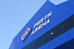 Modern architecture Perth Arena event venue Royalty Free Stock Images