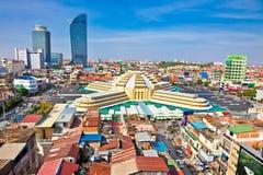 Modern architecture in Phnom Penh, Cambodia Stock Photo