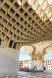 Modern architecture on Plaza de la Encarnacion Royalty Free Stock Photo
