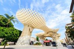 Modern architecture on Plaza de la Encarnacion Royalty Free Stock Image