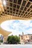 Modern architecture on Plaza de la Encarnacion Stock Photo