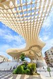 Modern architecture on Plaza de la Encarnacion Stock Image