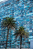 Modern Architecture on the Plaza Independencia in Montevideo Stock Image