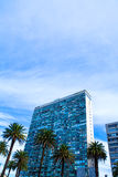 Modern Architecture on the Plaza Independencia in Montevideo Royalty Free Stock Photos