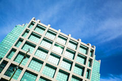 Modern Architecture on the Plaza Independencia in Montevideo Stock Photography