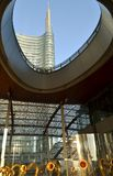 Modern architecture of Porta Nuova business centre. Stock Photography