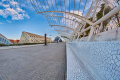 Modern Architecture and Príncipe Felipe Science Museum of City o Stock Photography