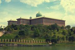 Modern architecture of Putrajaya, Malaysia. Abstract background Royalty Free Stock Images