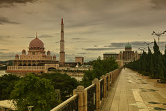 Modern architecture of Putrajaya, Malaysia Royalty Free Stock Photo