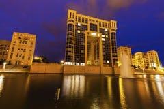 Modern architecture of Quartier Antigone Royalty Free Stock Image