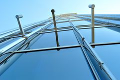 Modern architecture - real art. Royalty Free Stock Photography