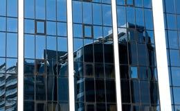 Modern architecture - reflex in windows Royalty Free Stock Photo