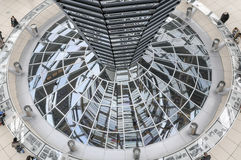 Modern architecture. Reichtag Dome, Berlin, Germany Stock Images