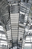 Modern architecture. Reichtag Dome, Berlin, Germany Stock Photo