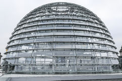 Modern architecture. Reichtag Dome, Berlin, Germany Royalty Free Stock Image