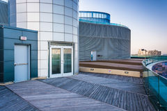 Modern architecture at Revel Casino, in Atlantic City, New Jerse Royalty Free Stock Photo