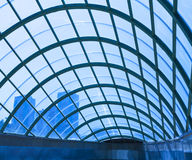 Modern architecture roof glass. Arch modern architecture roof  glass Stock Photos