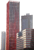 Modern architecture in Rotterdam, Netherlands royalty free stock photography