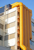 Modern architecture in Rotterdam, Netherlands stock photo